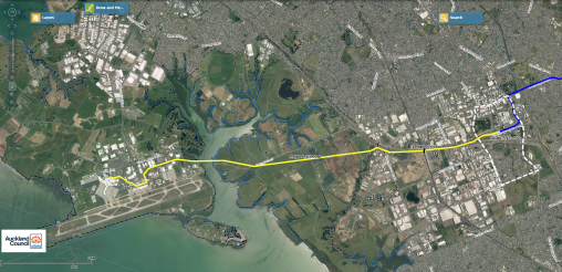 Manukau-Airport Section